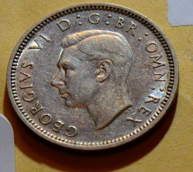 Great Britain  1942 6 Pence  GR0109 combine shipping
