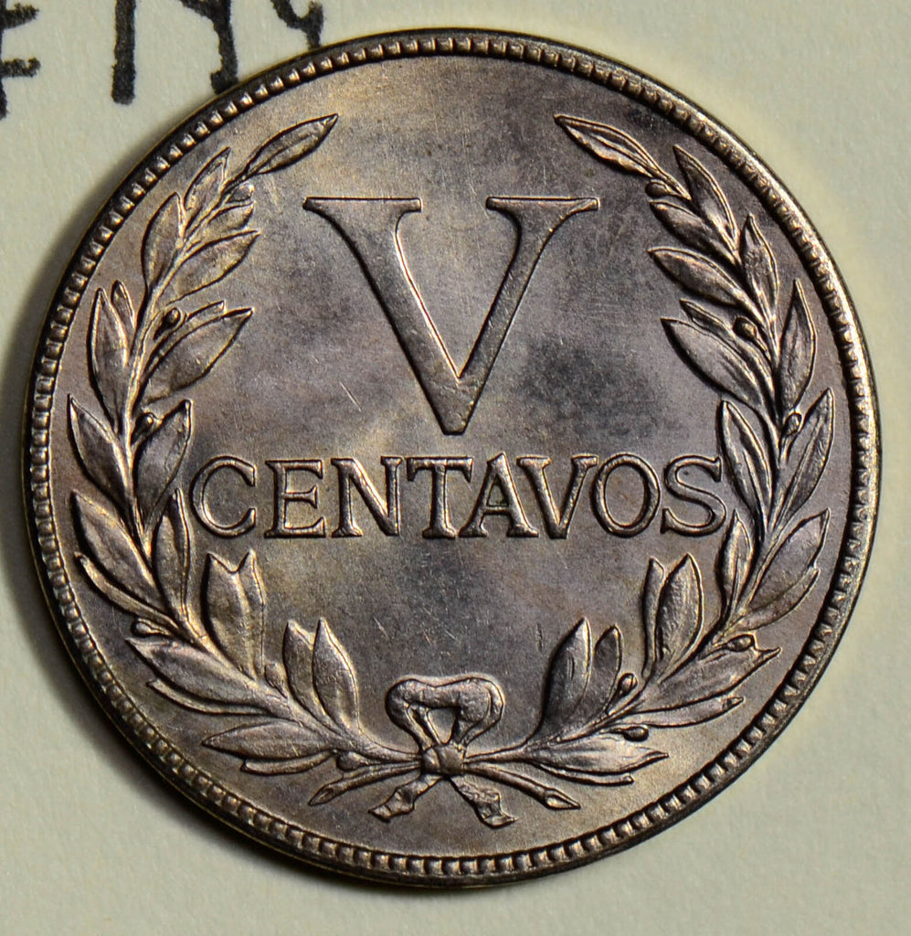 Colombia 1946 5 Centavos UNC  C0273 combine shipping