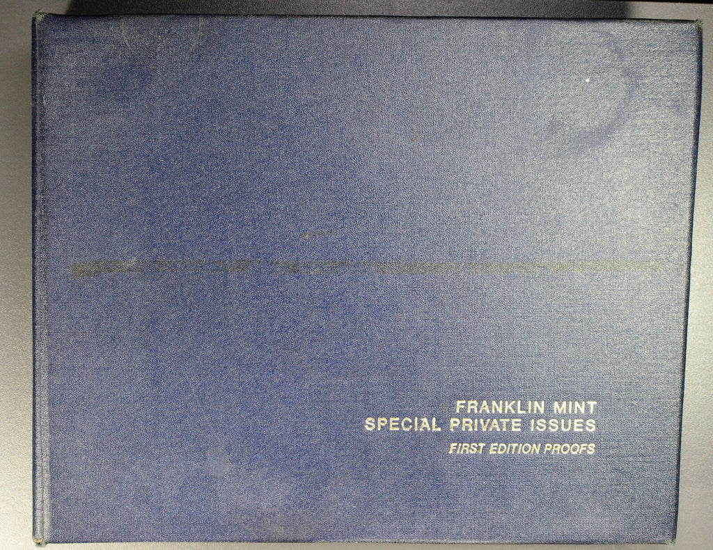 BU0165   Franklin Mint Special Issue first edition proofs, 51 proof coins rare!