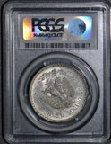 1943 M mexico peso PCGS MS66 PC0016 combine shipping