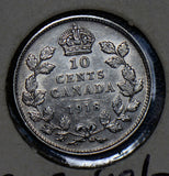 Canada 1918 10 Cents silver  190319 combine shipping