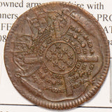 France 1708 AD 20 Sols  siege coinage F0078 combine shipping