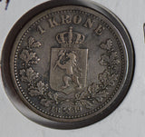 Norway 1889 Krone  N0182 combine shipping