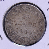 Canada 1890  20 Cents CA0118 combine shipping