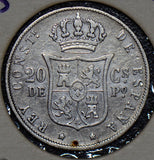 Philippines 1883 20 Centavos  190398 combine shipping
