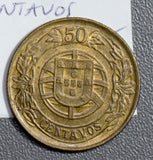 Portugal 1926 50 Centavos  P0171 combine shipping