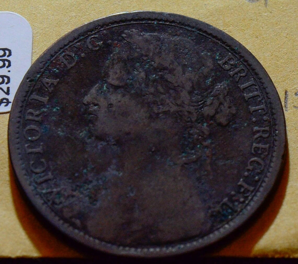 Great Britain H 7G OBV REV G 1874 Penny  GR0034 combine shipping