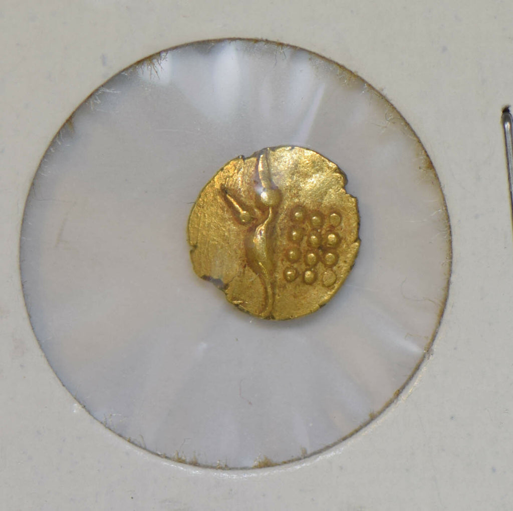 India Princely States 1700 ~99 Fanam gold koorg coorg GL0079 combine shipping