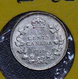 Canada 1918 5 Cents  190497 combine shipping