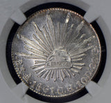 Mexico 1861 MO CH 2 Reales silver NGC MS65 gem proof lik NG0573 combine shipping