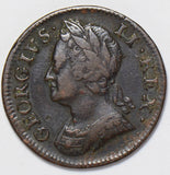 Great Britain 1749  Farthing  George II GR0181 combine shipping