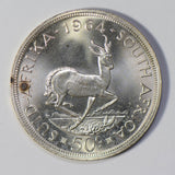 South Africa 1964 50 Cents silver GEM UNC lustrous S0189 combine shipping