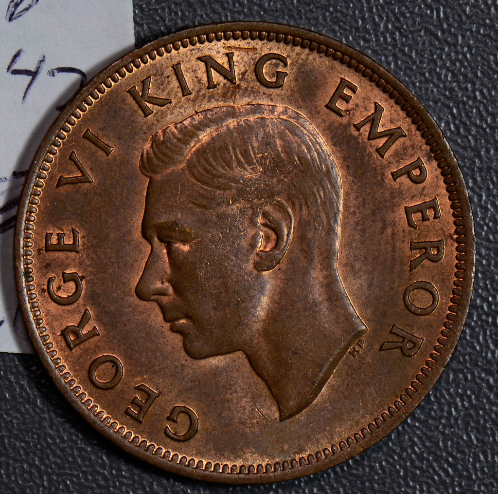 New Zealand 1947 Penny  N0104 combine shipping