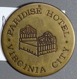 U0055   Paridise Hotel Token virginia city combine shipping