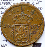Sweden 1675 Ore huge copper BU0228 combine shipping