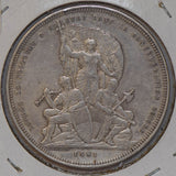 Switzerland 1881 5 Francs silver shooting thaler taler S0212 combine shipping