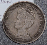 Netherlands 1914 Gulden silver  190524 combine shipping