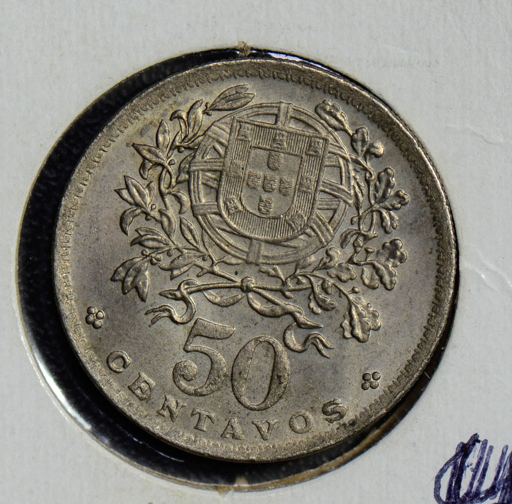 Portugal 1946 50 Centavos  P0186 combine shipping