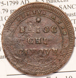 Italy Papal States 1797 ~1799 5 Baiocchi  ber.2987 I0153 combine shipping