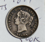 Canada 1894 5 Cents silver  CA0365 combine shipping