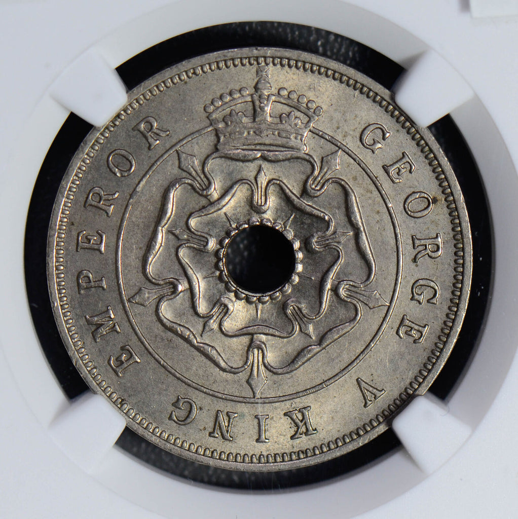 Southern Rhodesia 1935 Penny NGC MS64 rare in mint state! combine shippin NG0482
