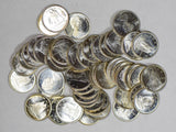 Canada 1965 roll of 50Pcs 10 Cents silver Gem BU prooflike BU0450 combine shippi
