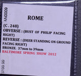 Rome C.248    Philip deer Bronze 37mm~39mm AN0009 combine shipping