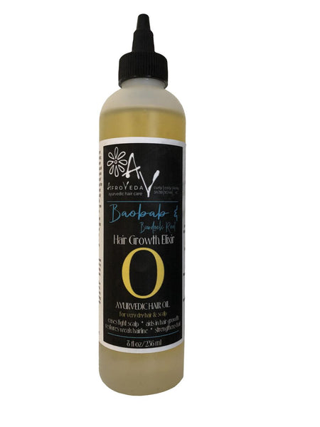 Baobab & Burdock Root Hair Rescue Oil
