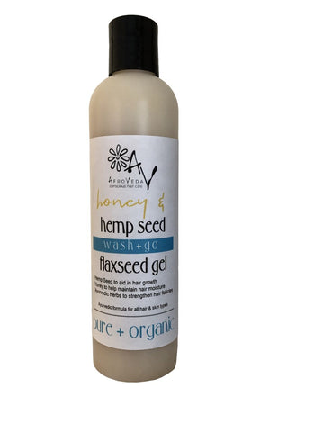 Honey & Hemp Seed Flaxseed Styling Gel