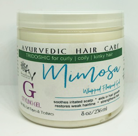 Mimosa Whipped Flaxseed Hair Gelly