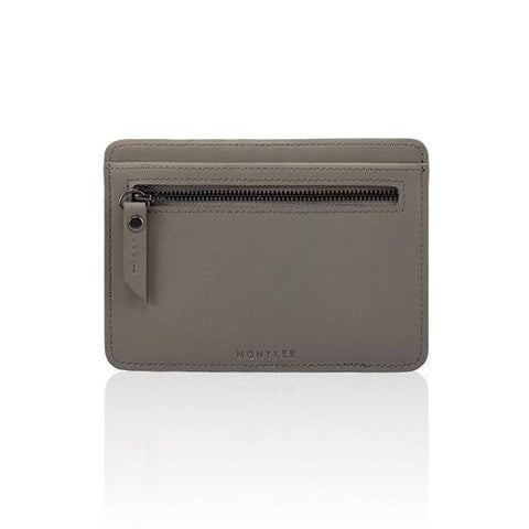 LEATHER PASSPORT SLEEVE - TAUPE