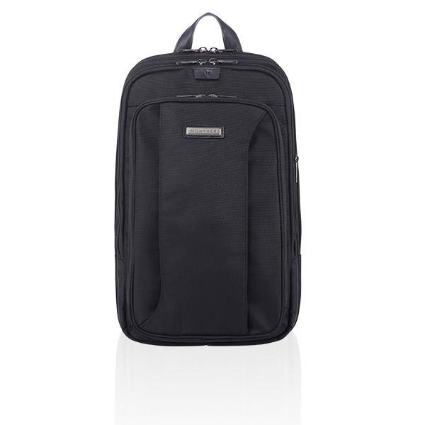MONYKER HUDSON EXPANDABLE BACKPACK - BALLISTIC NYLON BLACK
