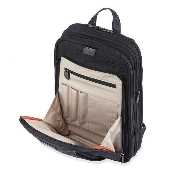 MONYKER HUDSON EXPANDABLE BACKPACK - BALLISTIC NYLON BLACK:  INTERIOR