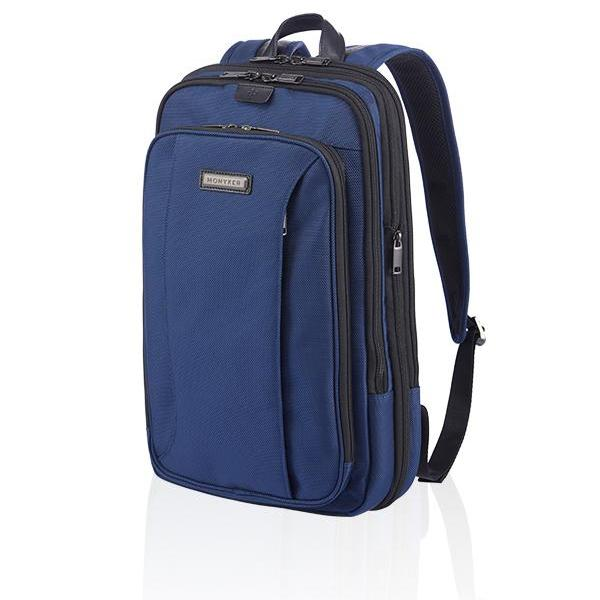 MONYKER HUDSON EXPANDABLE BACKPACK - BALLISTIC NYLON NAVY