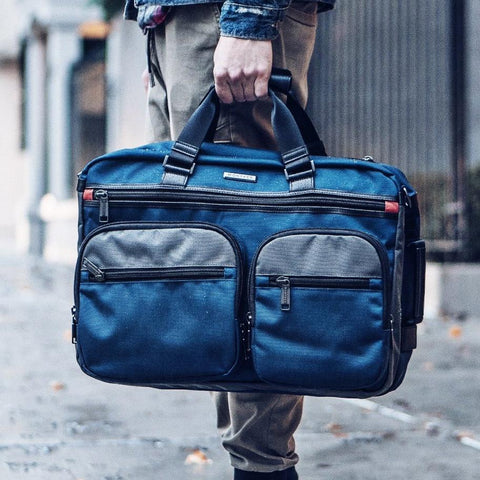 HUDSON EXPANDABLE BACKPACK - BALLISTIC NYLON NAVY