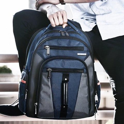 HUDSON EXPANDABLE BACKPACK - BALLISTIC NYLON BLACK