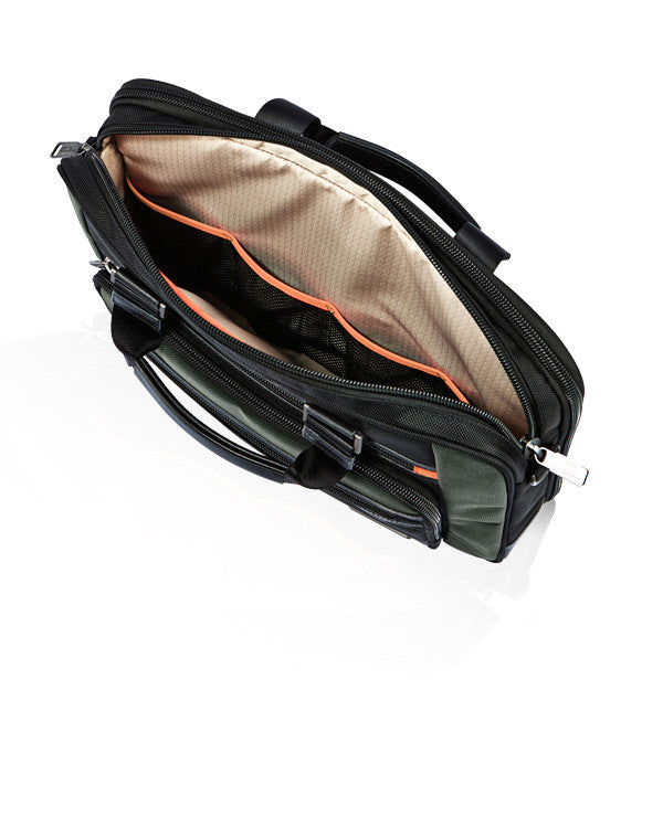MONYKER laptop bag main compartment interior