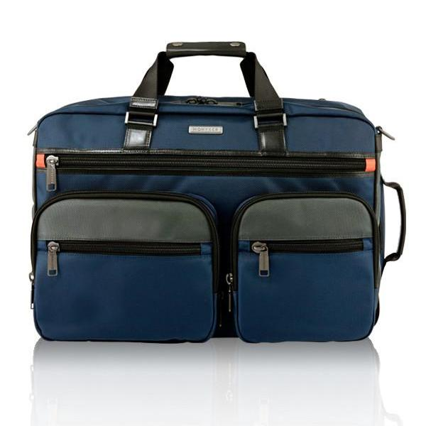 MONYKER navy ballistic nylon 3-in-1 travel bag
