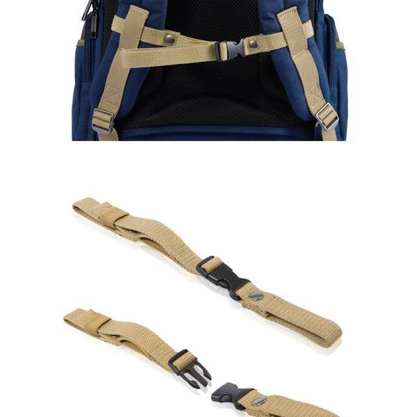 REMOVABLE STERNUM STRAP (CASUAL NYLON BAGS)