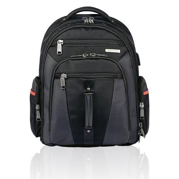 MONYKER Carryall Backpack Ballistic Nylon Black