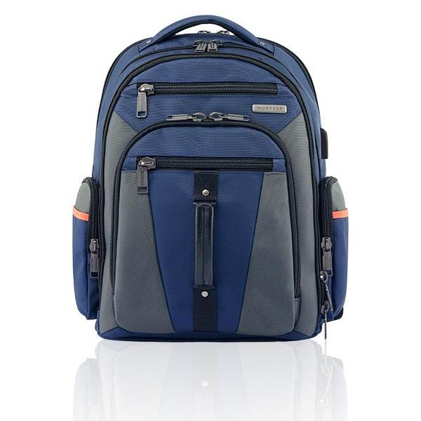 MONYKER Carryall Backpack Ballistic Nylon Navy