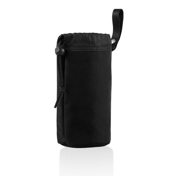 MONYKER black ballistic nylon snap-on bottle holder
