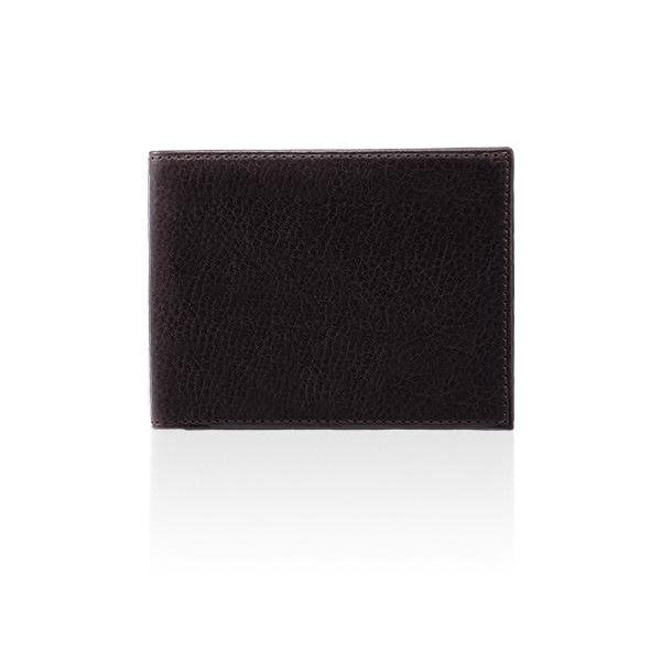 MONYKER Leather Wallet BROWN