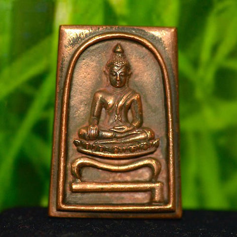 Copper Sothorn Buddha Amulet from Thailand