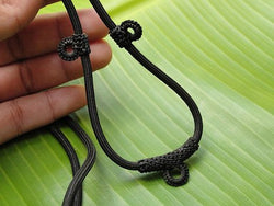 Black 3, 5, 7, 9 -Amulet Necklace