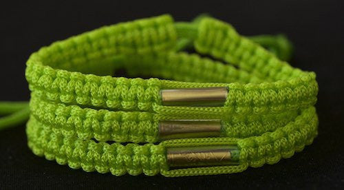 3 Solid Olive Green Blessed Theravada Buddhist Bracelets