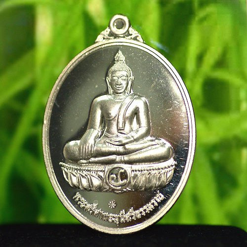Solid Silver Unique Sothorn Buddha Amulet