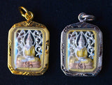 Fancy Sothorn Thai Buddha Amulet - Rectangular