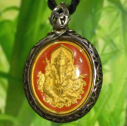 Ornate Ganesh Pendant (Our Best!)