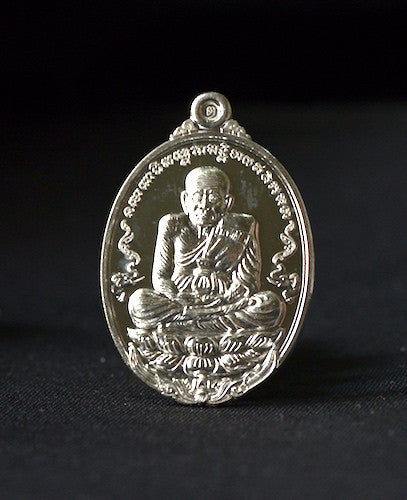 Solid Silver Special Edition Phra Luang Phor Tuad Amulet